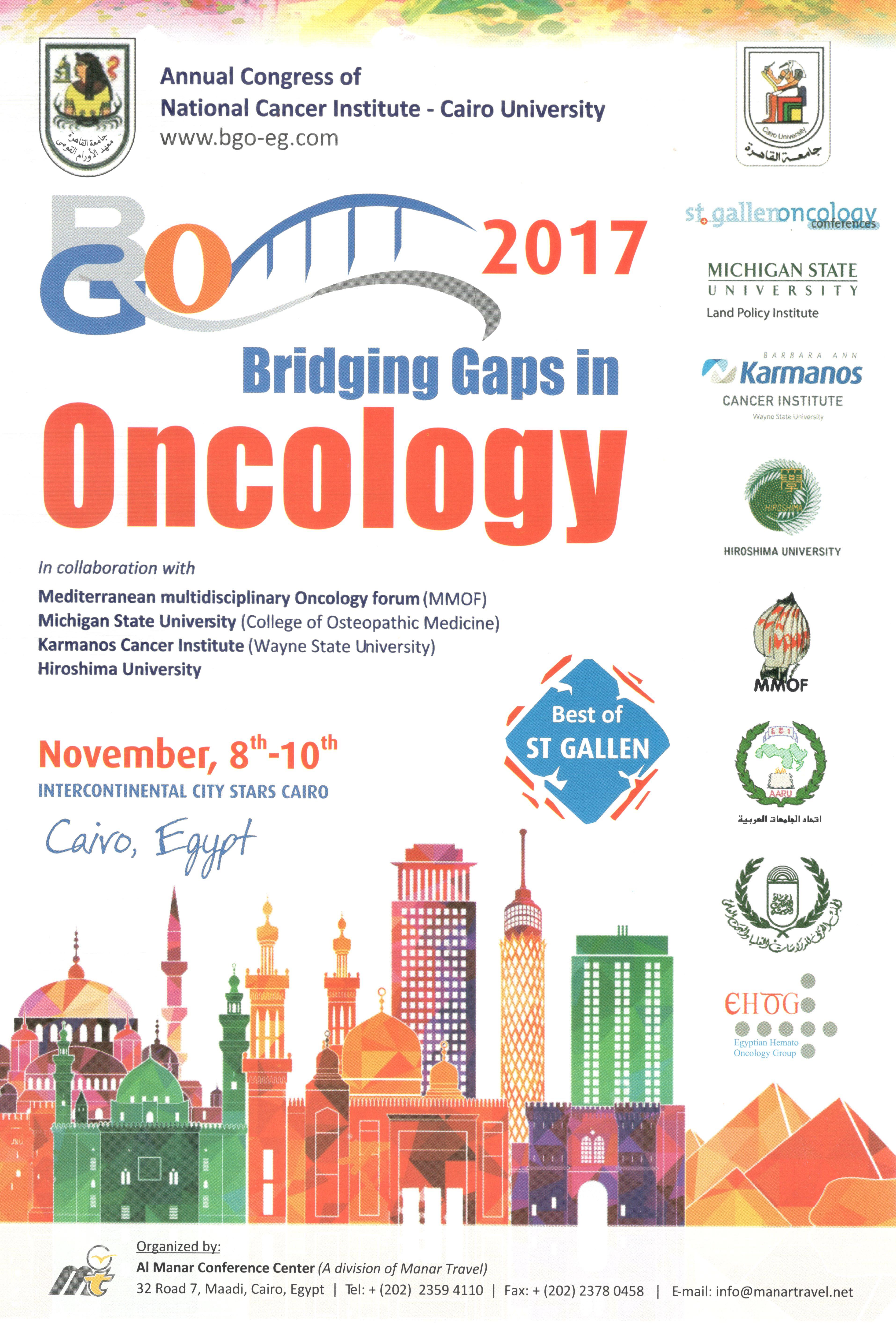 Bridging Gaps in Oncology - NCI Egypt
